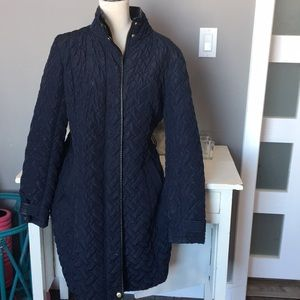 Cole Haan Quilted Coat LG